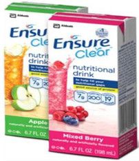 Ensure Clear Oral Supplement, 6.75 oz. Tetra Paks