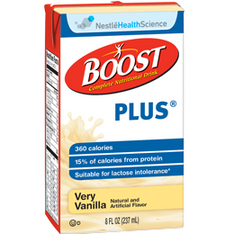 Boost Plus Nutritional Drink, 8 oz. Tetra briks