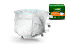 Depend Protection with tabs Maximum fitted briefs