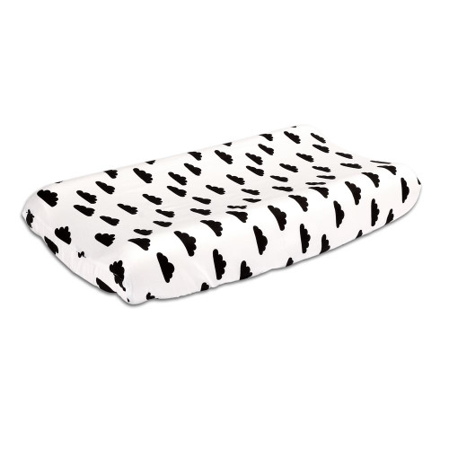 Black Clouds Changing Pad Cover