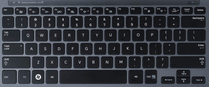 What does a qwerty keyboard look like 11