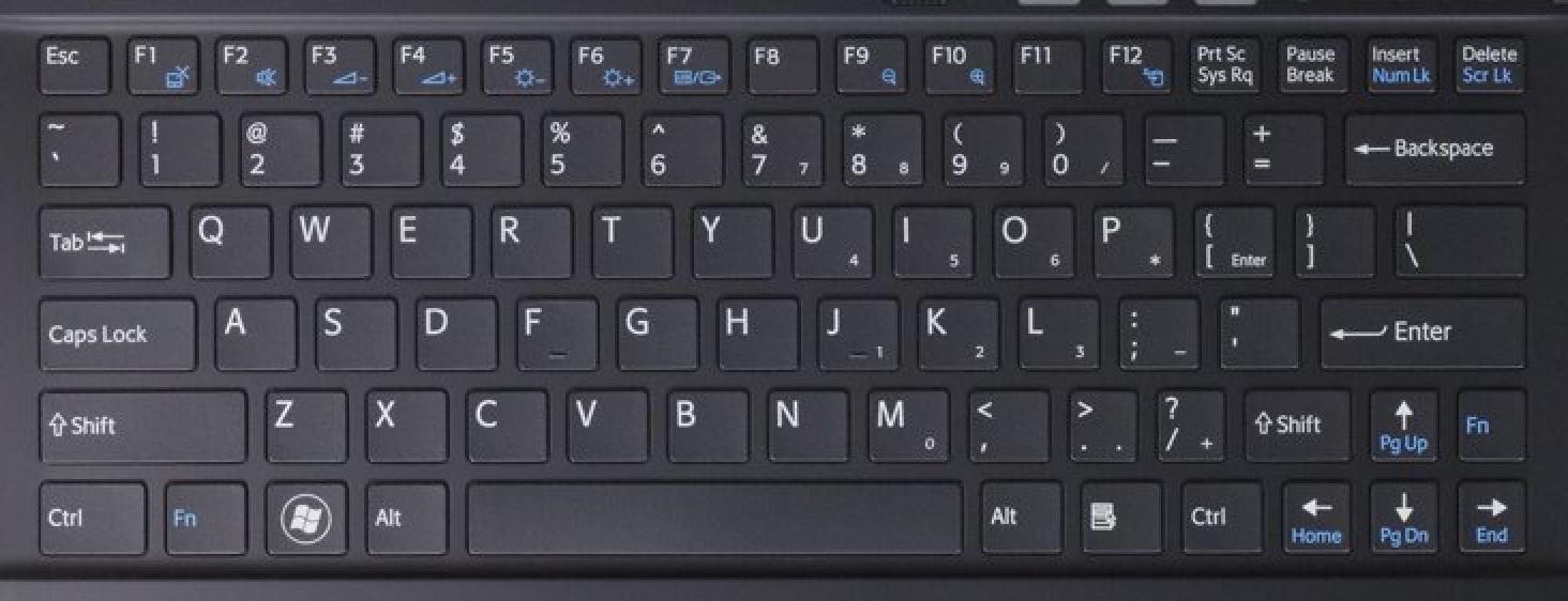 VPC-X Laptop Keyboard Keys Keyboard
