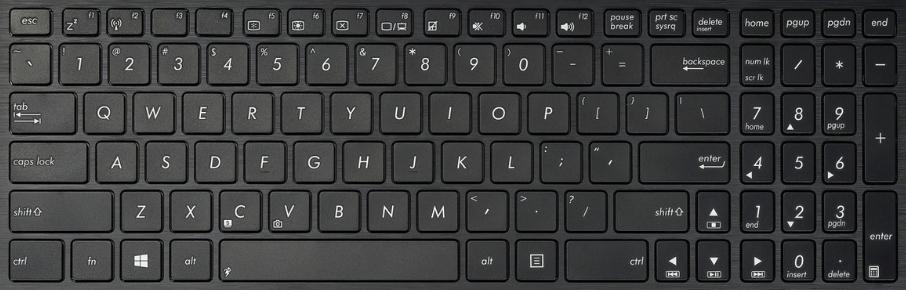 asus f550 laptop keyboard key replacement