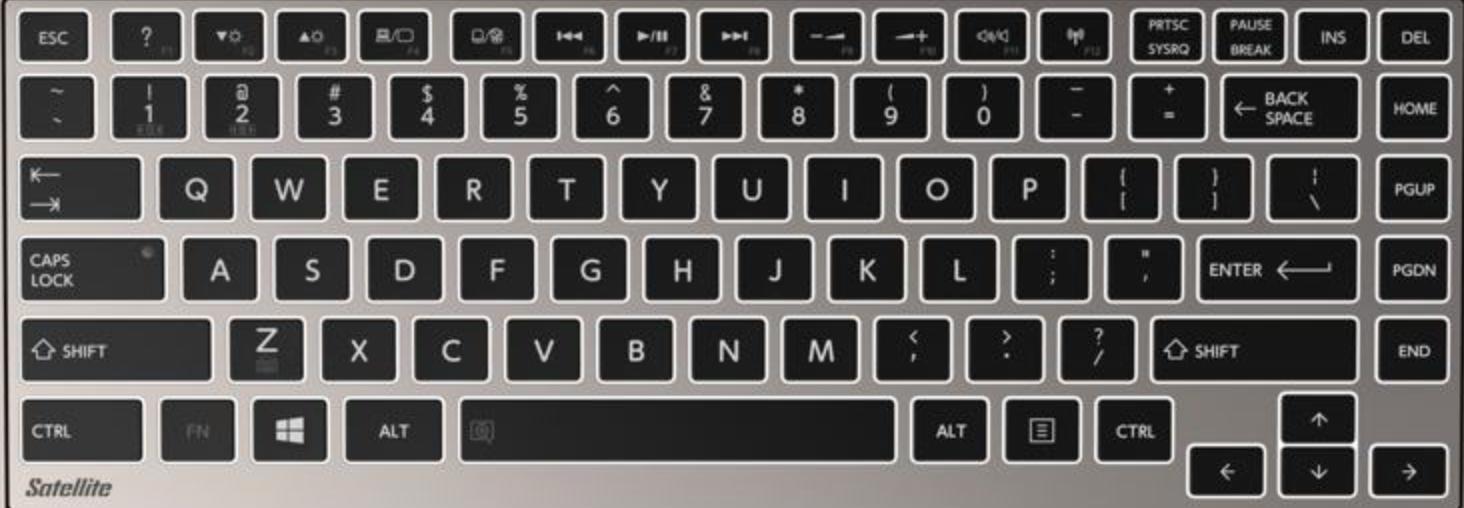 toshiba satellite function keys guide