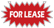 For Lease 12 x 24 Corrugated Star Rider Red