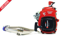 Bartolone Kraken Mod Motor with chrome pipe combo for the VEKTA.5