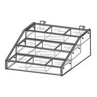 Gridwall Tiered Trays