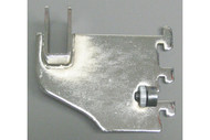 "3"" Blade Bracket For Rect Tubing Chrome"