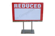 "7""H X 11""W Acrylic Sign Holder With Base"