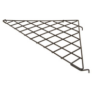 "24"" X 24"" Triangular Gridwall Shelf"