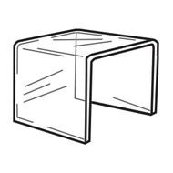 "Acrylic Riser, 8"" Square"