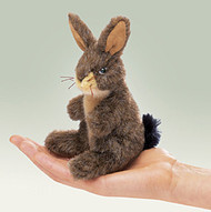 Mini Jack Rabbit - Folkmanis® Finger Puppet