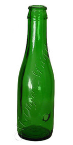 Shorties™ Glass Smoking Bottle - Green