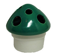 Ceramic Mushroom Incense Burner - Green