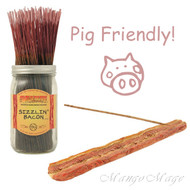 Sizzlin' Bacon Incense & Burner Gift Set