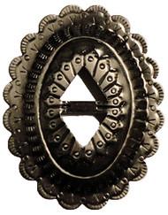 Santa Fe Concho - Antique Nickel