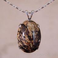 Astrophyllite Sterling Silver Pendant