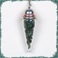 Moldavite Power Pendulums