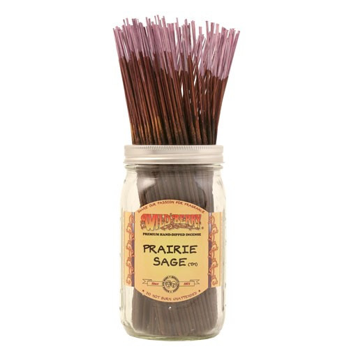 Prairie Sage Wild Berry brand incense sticks