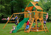Chateau Swing Set Front Lifestyle View