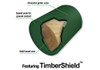 Diagram of TimberShield™  for Roundabout Swing Set from Plan-It Play.