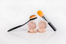 Foundation & Concealer Combo with Brushes
