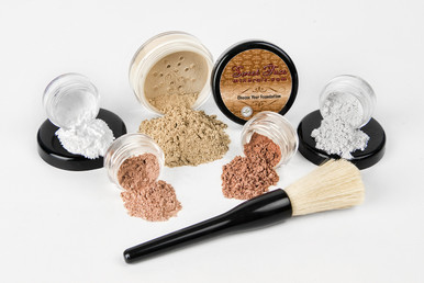 6 Piece Mineral Makeup Starter Kit