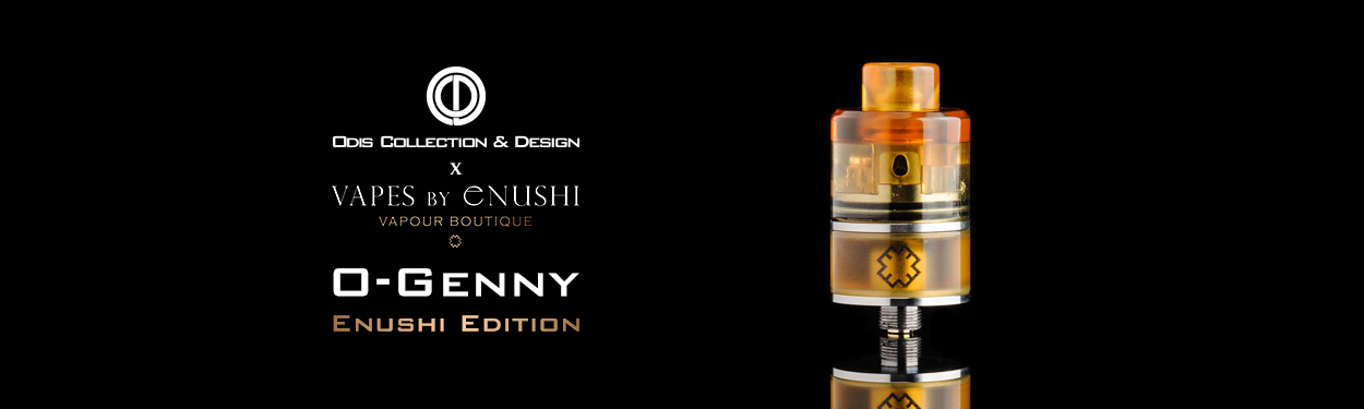 Odis Collection & Design O-Genny Enushi Edition Ultem Exclusive Vapes by Enushi