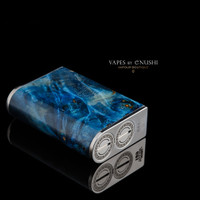 "Vicious Ant - ""Primo Dual #199"" Dual 18650 DNA75 Stabilized Wood Mod"