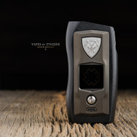 "Vicious Ant - ""Knight, Blackened Steel"" Metal SX550J Dual 18650 Mod"