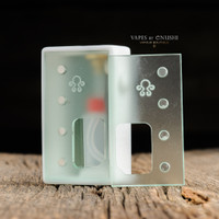 "Octopus Mods - ""Octo Verso, Distressed White"" Bottom Feed Squonk Box"