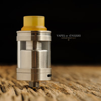 "Sector One Vapors - ""NXS Nano RTA"" Silver SS"