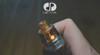 """DDP Vape - """"DDP One"""" RTA. Shown with optional Ultem drip tip attached (available for separate purchase) to demonstrate internal arrangement of components."""