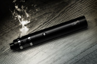 "Dicodes - ""Dani Extreme V3-23mm, Black Chrome"" 60W 18650 Regulated Tube Mod"