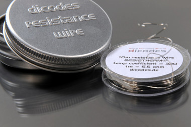 """Dicodes - """"ResisTherm NiFe30"""" Temperature Control Resistance Wire"""