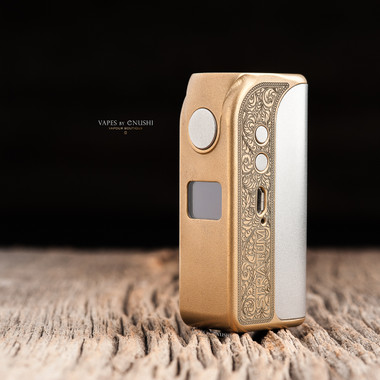 "OLC - ""Stratum OLC Gold Ornament Edition"" SX350 18650 Mod"