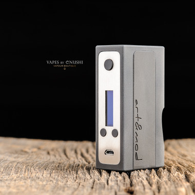 "Art & Mod - ""EVO DNA75, Black"" Bottom Feed Regulated Squonk Mod"