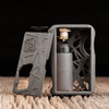 "Boost Lab - ""ALT B2.5"" (Batch 2.5) Mechanical Squonk Box Mod. Infinity/Sunbox Mods BFX 8.5 mL silicone bottle with Kompakt RS Black Delrin cap is included in this kit, for a premium squonking experience."