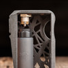 "Boost Lab - ""ALT B2.5"" (Batch 2.5) Mechanical Squonk Box Mod. Infinity/Sunbox Mods BFX 8.5 mL silicone bottle with Kompakt RS Black Delrin cap is included in this kit, for a premium squonking experience. Brass sub-ohm block attached, which reduces transitional current arcing, minimizes carbon build up, and allows the device to hit much harder."