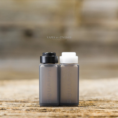 """I'M Infinity Mods x SunBox - """"Squappy, Delrin Cap"""", 7 mL SQUARE Cappy Silicone Bottle Kit"""
