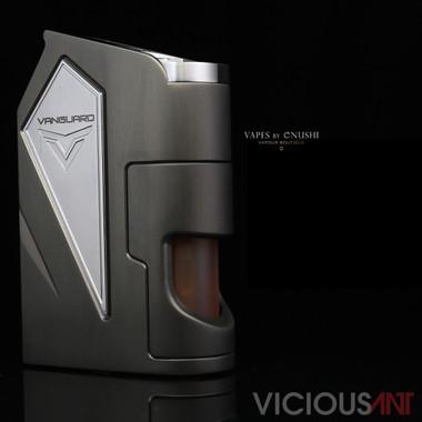"Vicious Ant - ""Vanguard, The Gargoyle (Gunmetal Grey)"" Metal SX475J 18650 Bottom Feed Mod"