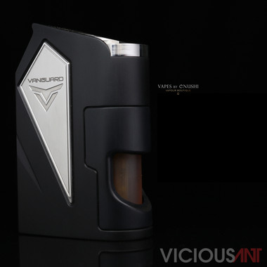 "Vicious Ant - ""Vanguard, The Night Shade (Black)"" Metal SX475J 18650 Bottom Feed Mod"