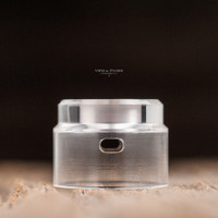 "Bell Vape by Chris Mun - ""Bell Cap for 24mm Flave RDA by Alliancetech Vapor"" - POLISHED"