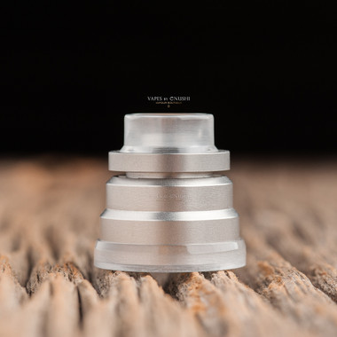 "Nick Ricotta Customs - ""Beauty Ring / Drip Tip Set"" for Typhon, Clear"