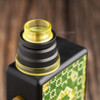 "Nick Ricotta Customs - ""Beauty Ring / Drip Tip Set"" for Typhon, Clear Yellow"