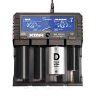 "Xtar - ""Dragon (VP4 Plus) Quad Bay Charger"""