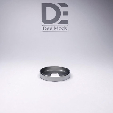 "Dee Mods - ""Shorty V2 SS Satin Finish Beauty Ring"""