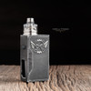 """Bell Vape by Chris Mun - """"Bell Cap Slam for Entheon by Psyclone Mods"""", Polished. Drip tip, atomizer, beauty ring, and mod are not included in sale, and shown for demonstration purposes only."""