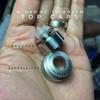 """Adler Industries - """"Mikro BF Titanium RDA"""" - Matte Titanium Cap (Optional Purchase - NOT INCLUDED)"""