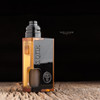 "Proteus Progeks - ""Black Acrylic Door for SQNK Ultem & Final Breed"". Shown attached to Beater Ultem mod with SQUI RDA for representation only. This mod and atomizer is not included in the sale. This sale is only for the black acrylic door."